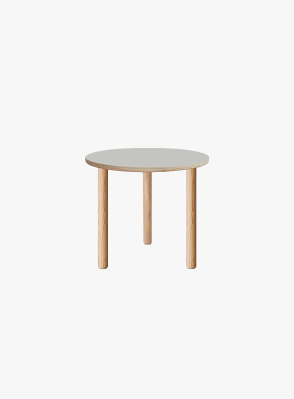 오블리크테이블 - Cylinder Oval Low Table 380