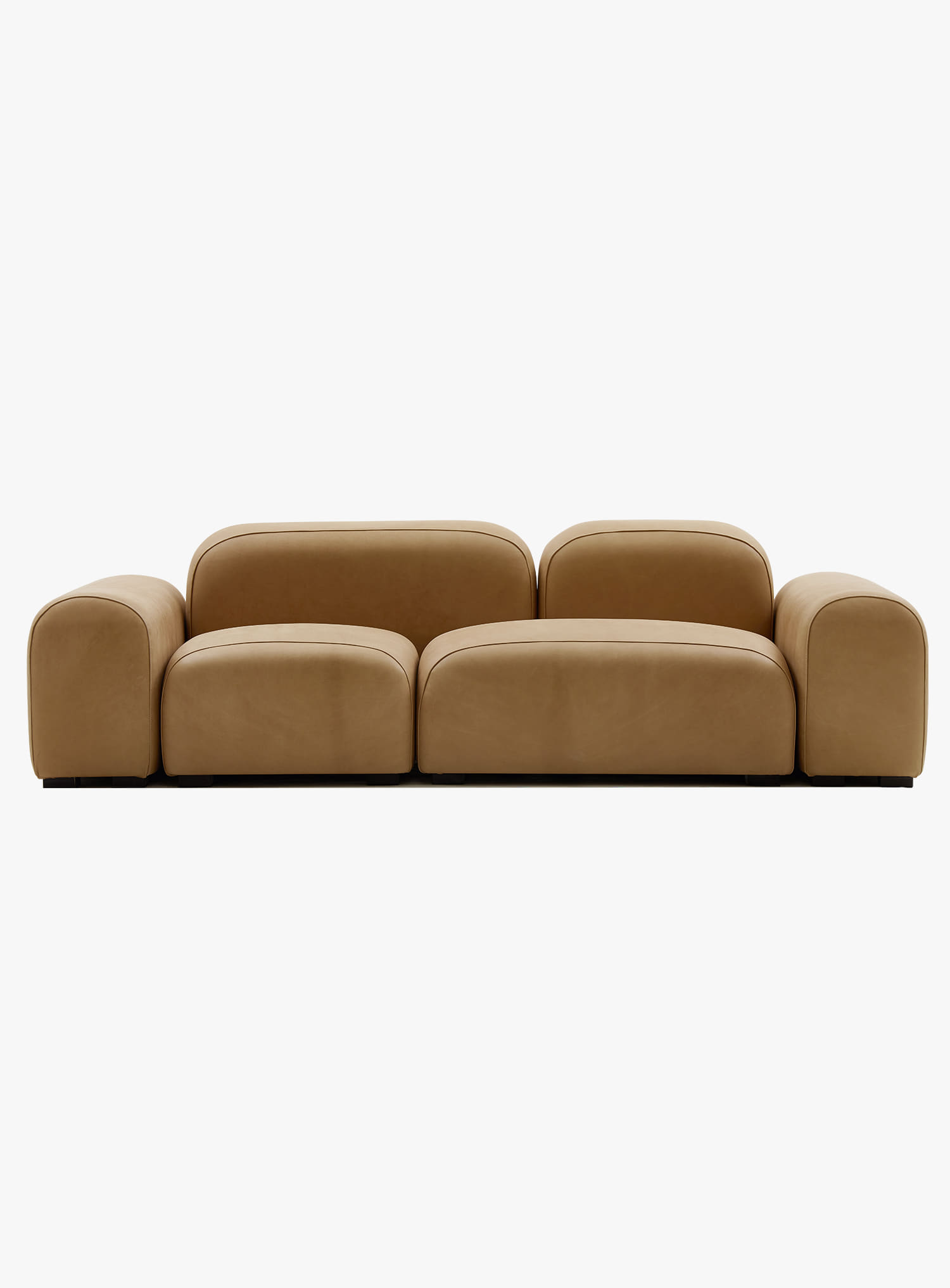 잭슨카멜레온 - Pebble Sofa - Leather