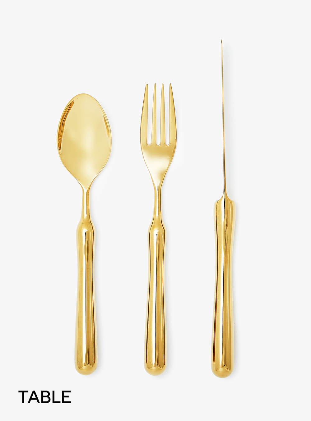 호랑 - Table Size Cutlery Set Gold Edition