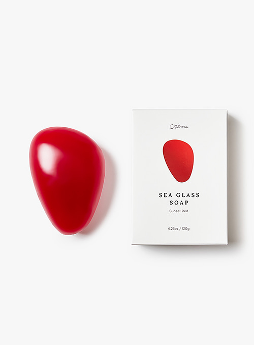 크렘 - Seaglass Soap Sunset Red